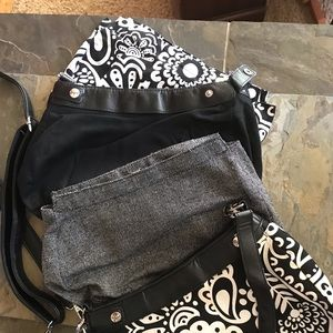 Thirty One Purse Lot with Snap Change Covers